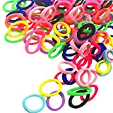 100 PCS cute 10 colors tiny hair ties are well streching and better recovered, not easy to be broken and out of shape.They are perfect suitable for toddlers and little girls hair. Attributes: Name: Cute Baby Hair Ties Material: Polyester Fiber Color:...