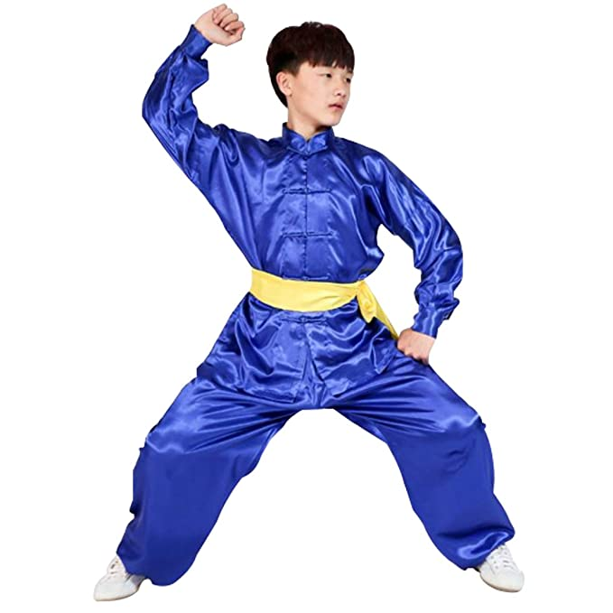 Amazon.com: Aiweijia Mens and Womens Kungfu Clothing Tai ...