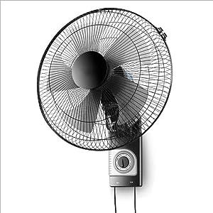 Ai xin 20 botón Giratorio o de cordón Monte Fan Wall Pulgadas, Control Remoto Incluido - 3 configuraciones de Velocidad - 3 Ajustes oscilante, una función de Temporizador 7h, (tamaño : Mechanical)