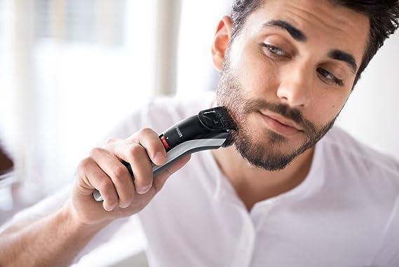 Philips BEARDTRIMMER Series 3000 QT4013/23 depiladora para la barba Negro - Depiladoras para la barba (1 cm, 0,5 mm, 3,2 cm, 0,5 mm, Barba corta, ...