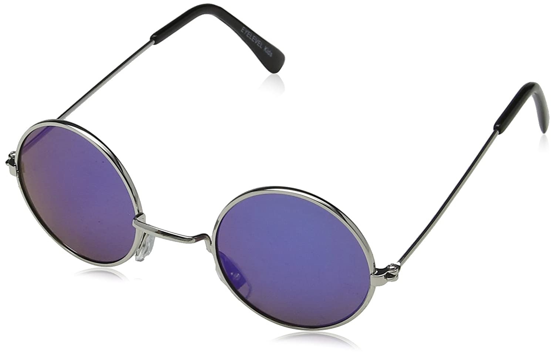 Eyelevel Kids' Jasper Sunglasses, Silver/Blue Mirror, 40