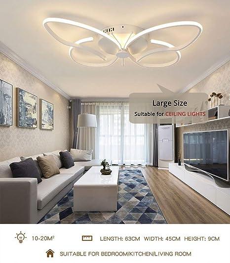 DEED Luz de techo para el dormitorio del hogar, luz de techo ...