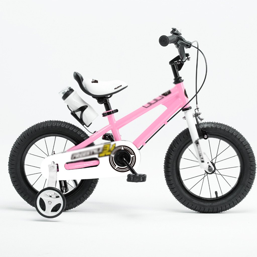 Gai Huaホーム子供用自転車子供の自転車ベビーBikes 2 – 10年古いベビーカーBoy Girl自転車 B07DQKSNTD 14 inches|ピンク ピンク 14 inches