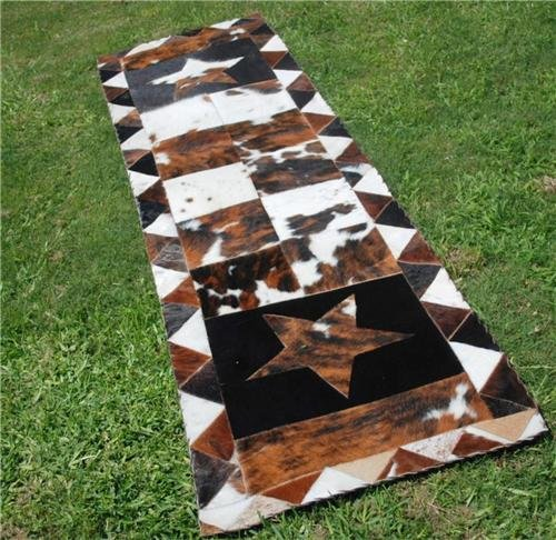 Cowhide Outlet Hall Runner 8,0 X 2,5 (Cowhide Table Runners)