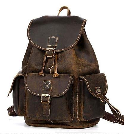 32bd888b1b Adimani® Genuine Original Leather Backpack Bag For Women (17 Inch ...