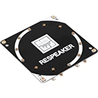 MakerHawk ReSpeaker 4-Mic Array,(Raspberry Pi Expansion Board), Smart Voice Quad-MicrophoneExpansion Board Base on AC108, Designed for AI and Voice Applications for Raspberry Pi Zero/Zero W/3B/2B/B+