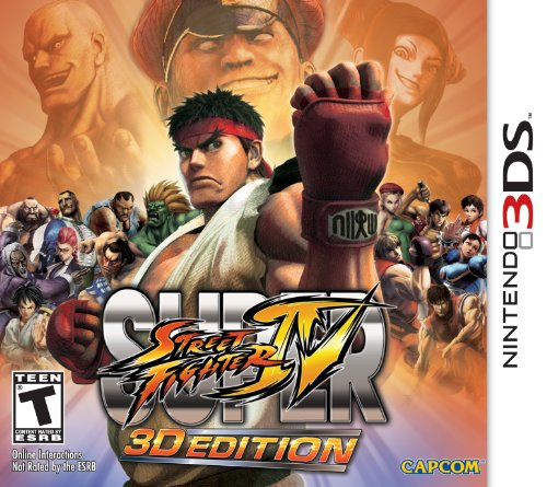 Super Street Fighter IV: 3D Edition - Nintendo 3DS (Resident Evil 4 Vs Resident Evil 5)