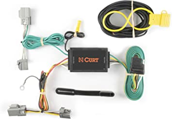 Amazon.com: CURT 56093 Vehicle-Side Custom 4-Pin Trailer Wiring Harness for  Select Ford Taurus, Lincoln MKS: AutomotiveAmazon.com