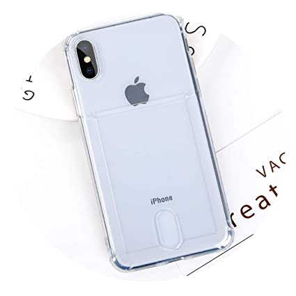 Amazon.com: Funda transparente para iPhone 7, 8 Plus y 10 ...