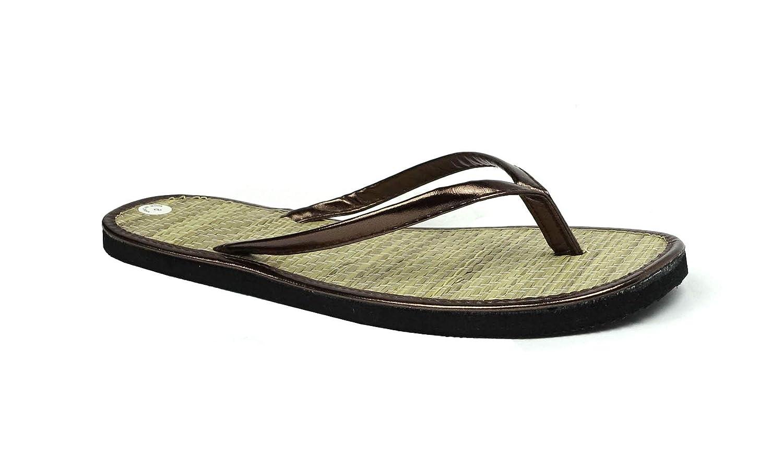 20ca185e992a Amazon.com  Women s Bamboo Flip Flop Sandals Beach Summer Shoes Clearance  Sales
