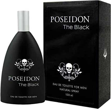 Comprar Poseidon The Black Eau de Toilette para Hombre - 150 ML