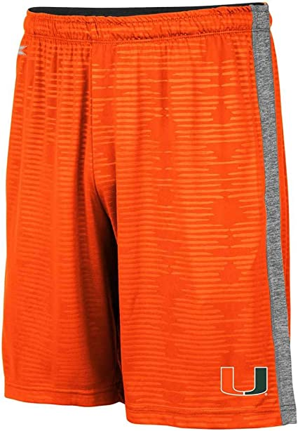 NCAA Miami Hurricanes Adult Men Electron Shorts  Large