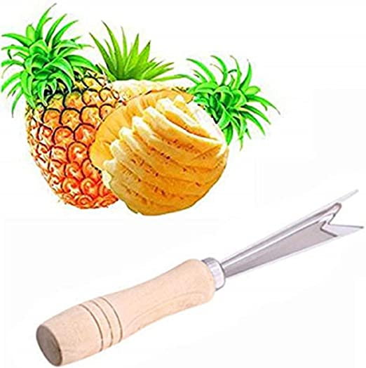 Pineapple Eye Remover Fruit Clip Peeler Tool Stainless Steel Remover Cutter