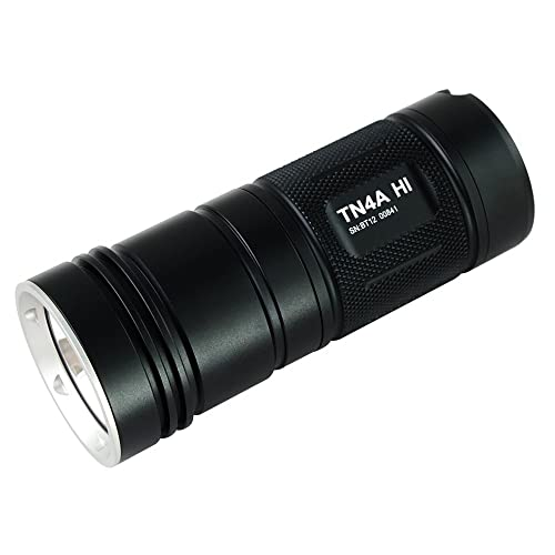 ThruNite TN4A LED Flashlight Powered by 4 AA batteries