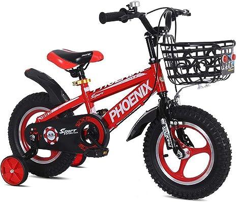 Bicicleta for niños 2-3-5-6-7-8 años Bicicleta Bicicleta niño niño niña bebé Carro niños Bicicleta Deportiva: Amazon.es: Deportes y aire libre