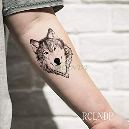 Etiqueta engomada del tatuaje temporal a prueba de agua geometría ...
