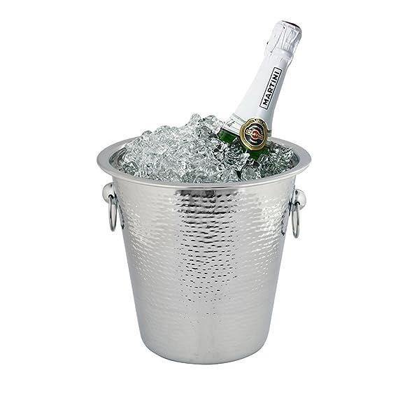 Amazon.com: Kosma cubeta para botella de champaña (Acero ...