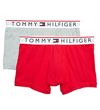 e74cf66e03 Tommy Hilfiger Modern Essentials Cotton Stretch Trunks - 2 Pack (09T3481)  S/Mahogany