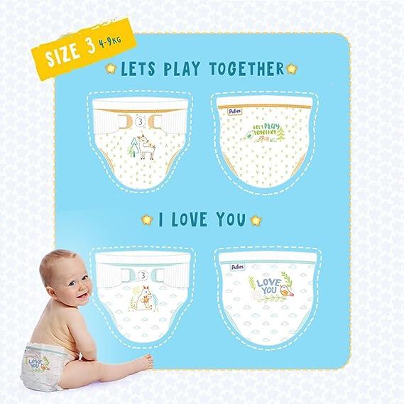 Pufies Sensitive MINI Pañales para Bebés - 216 Pañales: Amazon.es: Salud y cuidado personal