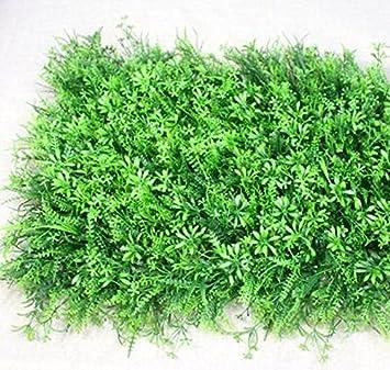 Simulation Mur végétal Gazon Surface murale pelouse artificielle ...