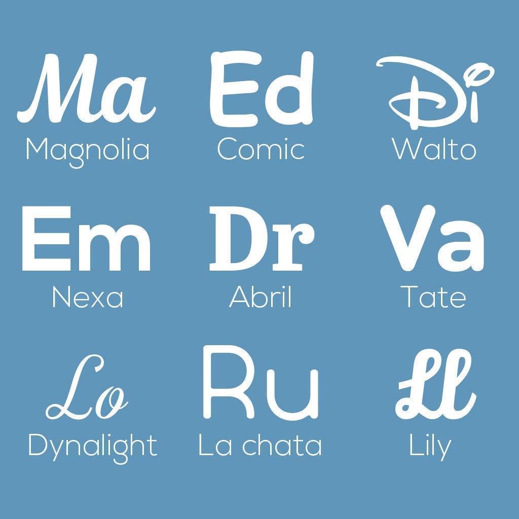 DON LETRA - Nombres Decorativos Personalizados para ...