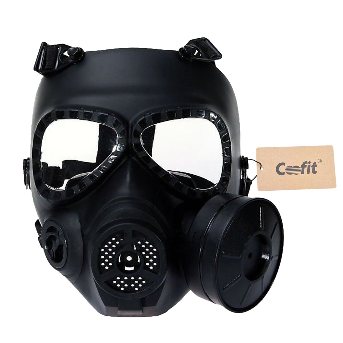 wmx tactics m04 airsoft paintball protective full face toxic gas mask sporting goods outdoor. Black Bedroom Furniture Sets. Home Design Ideas