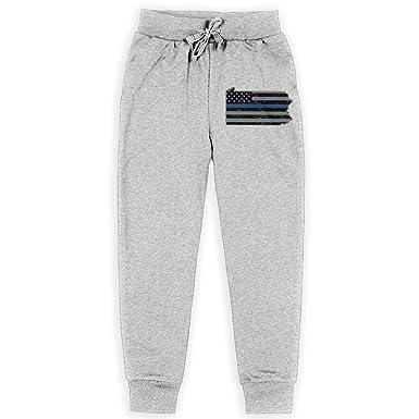 129919dbdcf99c Nm78kL&KU Men's Relaxed Sweatpant, 100% Cotton Pennsylvania State Thin Blue  Line Flag Sports Pants