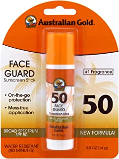 product image for Australian Gold Spf#50 Face Guard Stick 0.6 Ounce (17ml) (3 Pack)
