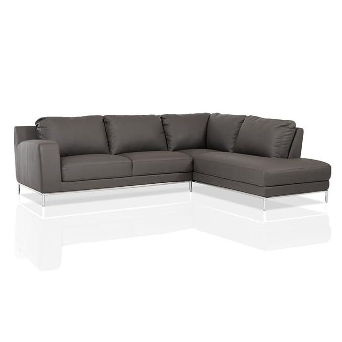 Amazon.com: Divani Casa Primrose Modern Eco-Leather ...
