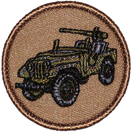 2 Inch Round Jeep Patrol Patch
