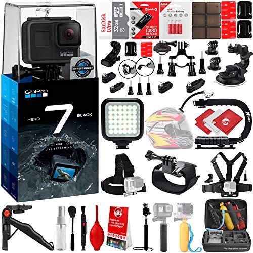GoPro HERO7 Black 4K 12MP Digital Camcorder w/ 32GB - 40PC S