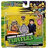 Teenage Mutant Ninja Turtles Minimates Series 2 Donatello and Norman by Diamond Select