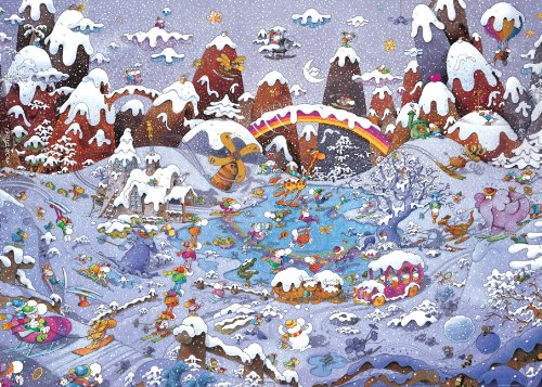 HEYE Puzzle ヘイパズル B00AN12DR4 29567 Mordillo : Winterland (3000 Mordillo pieces) 29567 B00AN12DR4, ササグリマチ:15ea1072 --- sharoshka.org