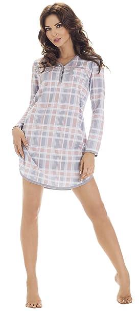 Cornette Camisón Camisones Pijamas Vestido de dormir Mujer CR-654/01: Amazon.es: Ropa y accesorios
