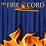 Live Fire 550 FireCord – 50 Feet – Royal Blue