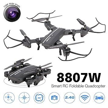 Goolsky 8807W 720P cámara de gran angular Wifi FPV plegable Drone ...