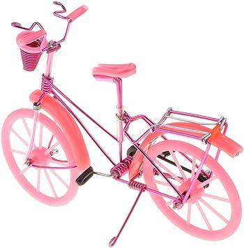 B Blesiya Juguete de Bicicleta de Simulación en Miniatura ...