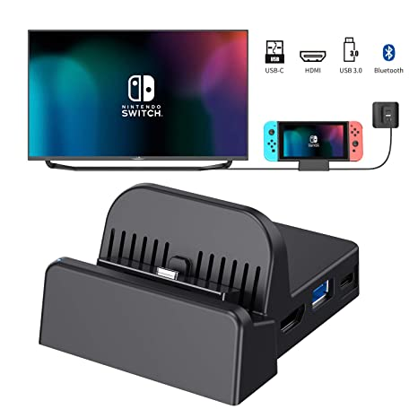 OLCLSS Nintendo Switch Dock with Bluetooth Adjustable Switch ...