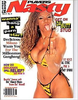 Amazon Com Players Nasty Mary Jane Ebony Cheri Sexy Milano Black Butt Tits Mi Books
