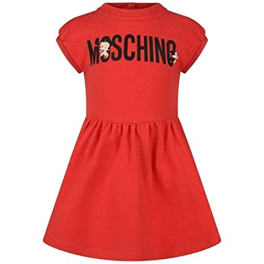 2275f719f040 Moschino Baby Girls' Dress Red red - Red - 6/9 Months: Amazon.co.uk ...