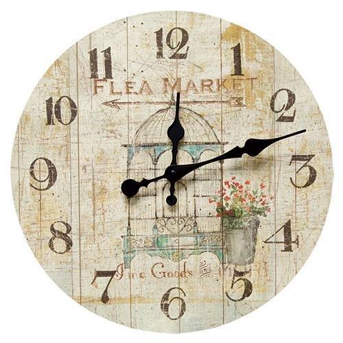 Heart of America Flea Market Clock by Heart of America