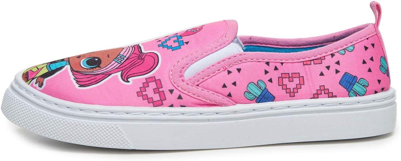 Surprise L.O.L Girls 11-2 Canvas Shoes
