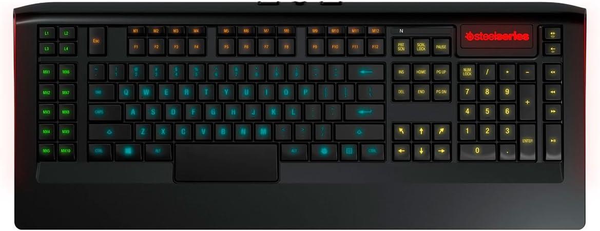 SteelSeries Apex Keyboard - Teclado: STEELSERIES: Amazon.es ...