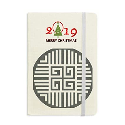 a81b7e7f6 Image Unavailable. Image not available for. Color: Traditional China Chinese  Four Symbol Notebook Journal Diary 2019 New Year