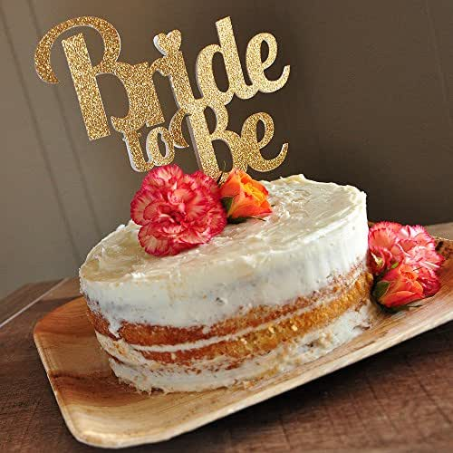 bridal brunch decorations bridal shower cake topper bride to be cake topper handmade. Black Bedroom Furniture Sets. Home Design Ideas