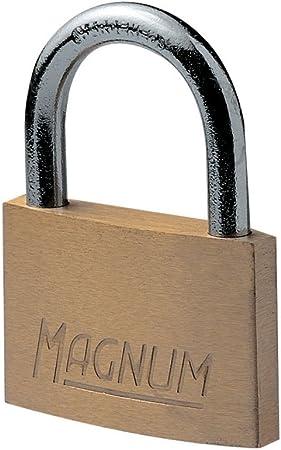Master Lock CAD60-Magnum Brass Cadenas 60 Mm