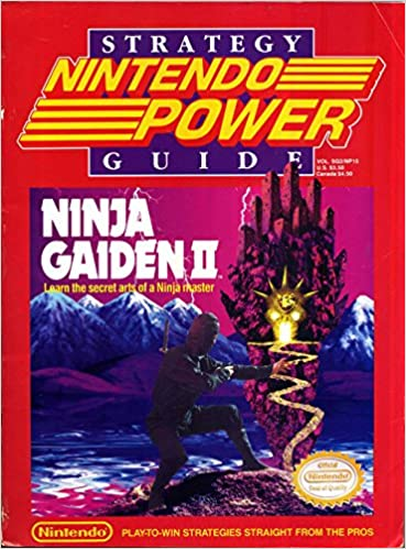 Nintendo Power Strategy Guide: Ninja Gaiden 2 (Volume SG2 ...
