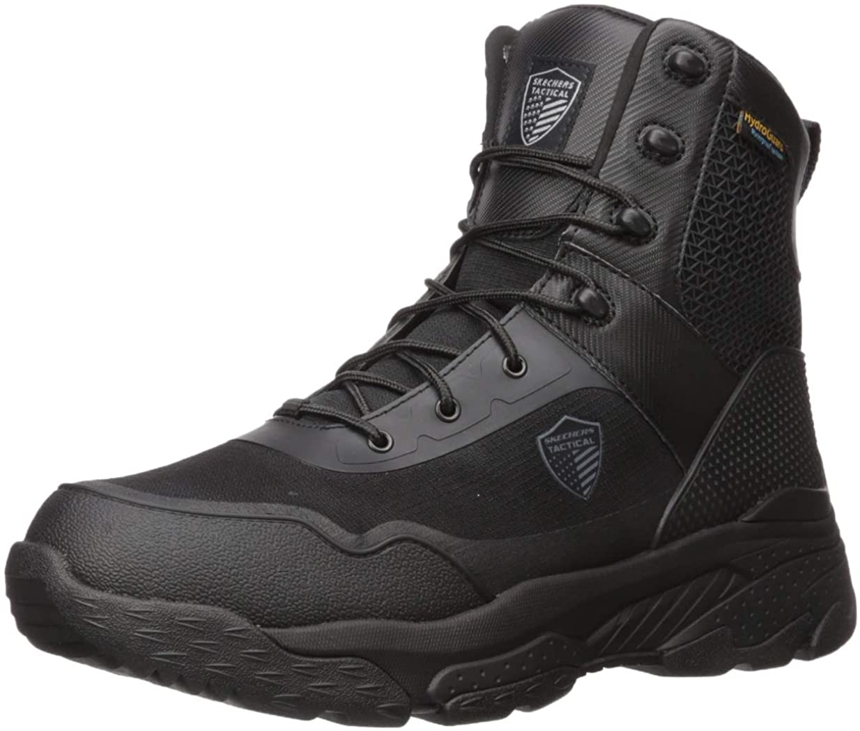 Skechers Work Markan 77515 Men's Boot 11.5 D(M) US Black