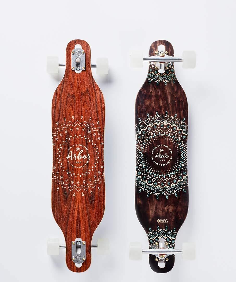Arbor Skateboard Axis 37 Solstice B4BC