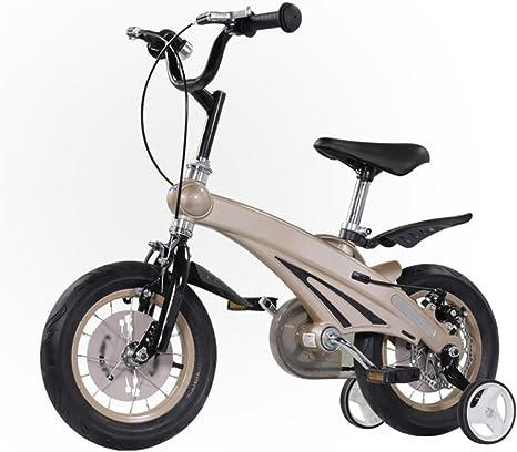ZCRFY Bicicleta para Niños Niñas Bicicletas Infantiles Estudiante Bebé Ajustable Hombres Y Mujeres Cómodo Seguro Freno De Aleación De Magnesio Ligera Moda: Amazon.es: Deportes y aire libre